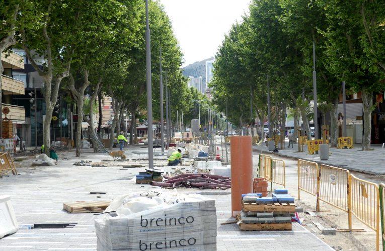 El grueso de la remodelación de Mediterráneo estará terminado para mediados de mayo