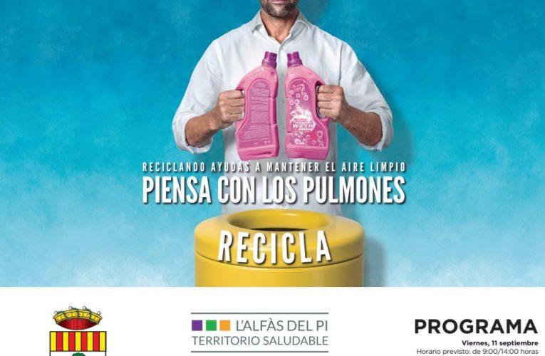"""""""El Reto del Reciclaje"""" llega a l´Alfàs del Pi"""