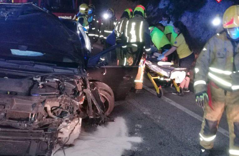 Accidente de tráfico en la CV-763