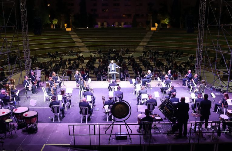 El concierto de la SM l'Illa cierra la programación del '9 d'octubre' en Benidorm