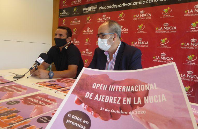 """La Nucía será sede de un """"Open Internacional de Ajedrez"""""""