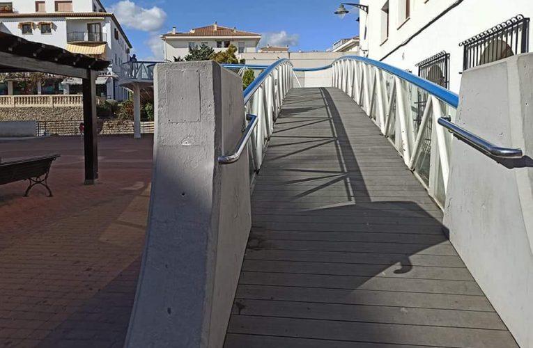 Altea abre la pasarela de la Plaza del Ayuntamiento