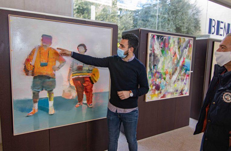 Los nuevos creadores exponen en el Espai d'Art del Ayuntamiento de Benidorm
