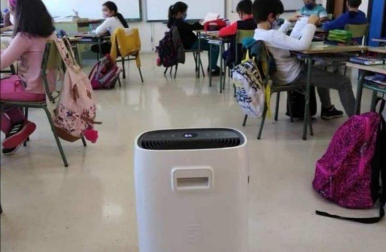 Compromís (Polop) propone instalar purificadores de aire en el colegio