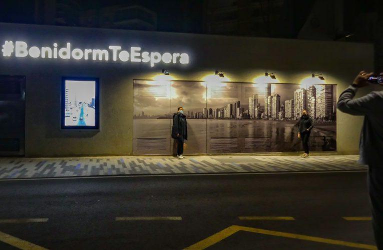 """El Benidorm moderno y el del recuerdo se dan cita en el nuevo """"Espai d'Art Urbà Hispanitat"""""""