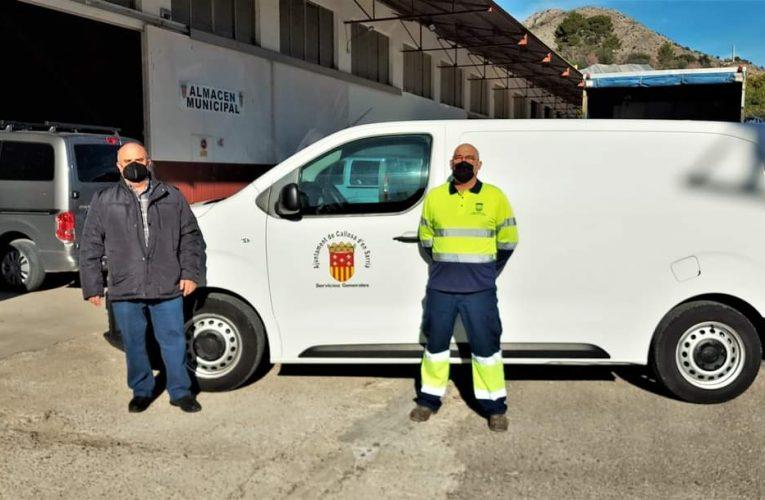 El Ayuntamiento de Callosa d'en Sarrià adquiere un nuevo vehículo