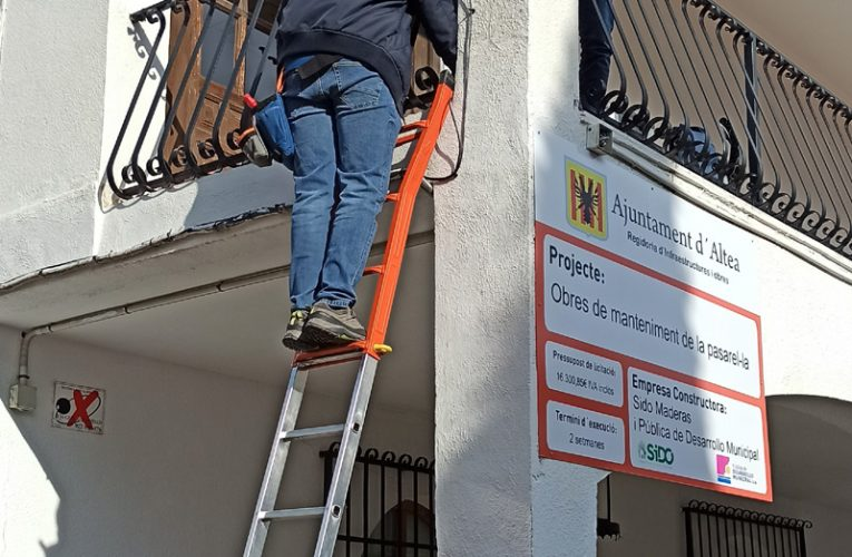 Altea inicia la instalación de antenas de wifi público
