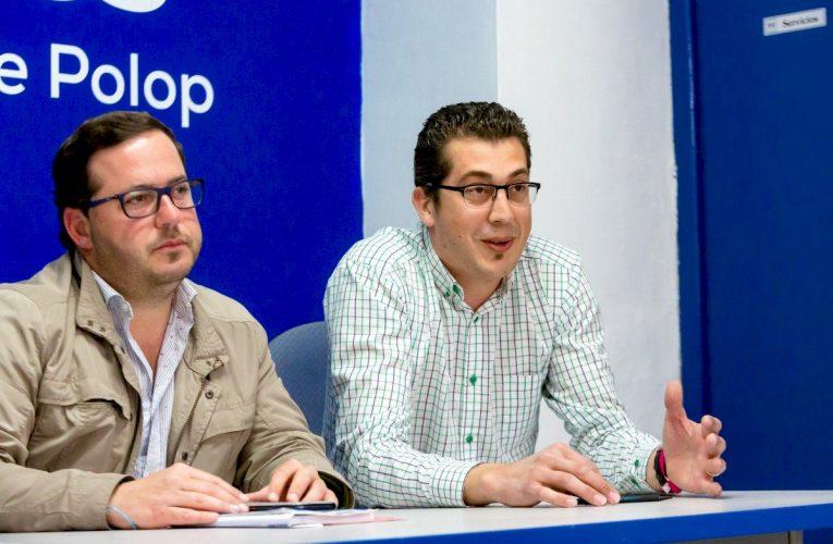 José Luis Susmozas «los errores del equipo de gobierno han hecho perder 20.132,24€ de las ayudas de la Diputación de Alicante a empresarios de Polop»