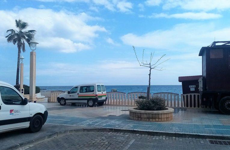 Las playas de Altea se preparan para la Semana Santa