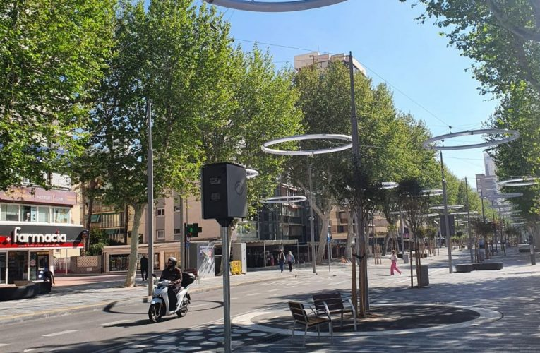 El PSOE de Benidorm solicita suspender la puesta en funcionamiento de los radares instalados en varios puntos de la ciudad