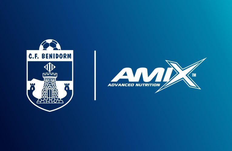 Amix™ Nutrition , nuevo colaborador del CF Benidorm Fútbol Playa