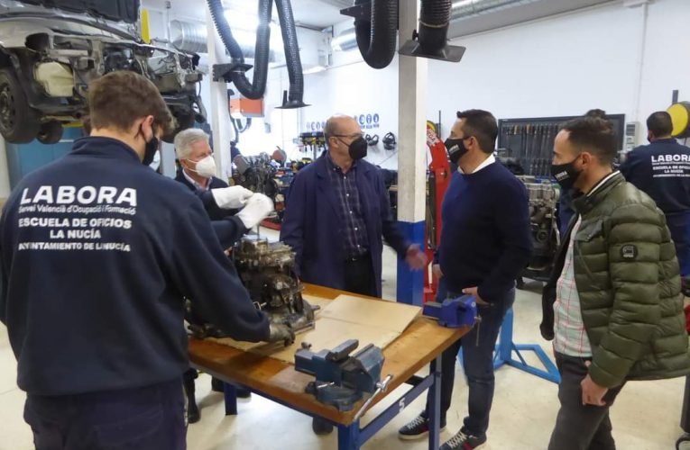 """La Nucía destina 36.907,5 € al """"Curso de Electromecánica"""" para desempleados"""