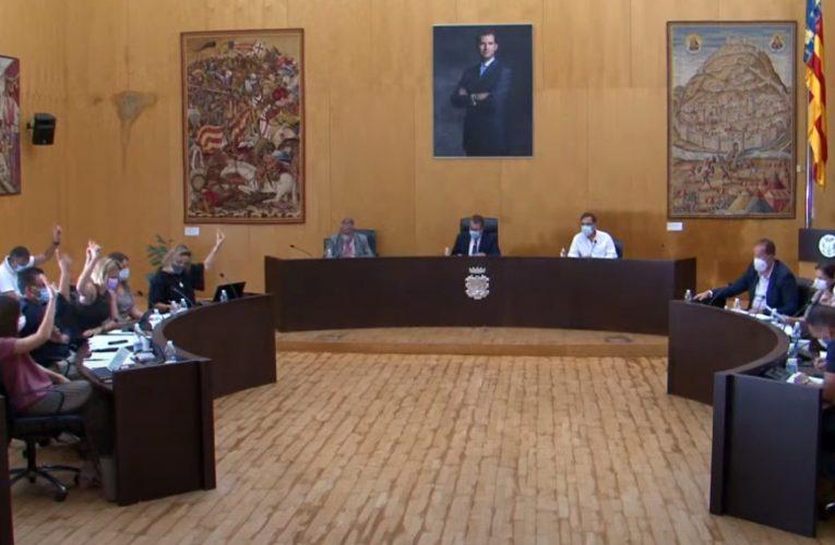 """Los socialistas de Benidorm critican al PP por """"tumbar"""" una propuesta para mejorar la transparencia municipal"""