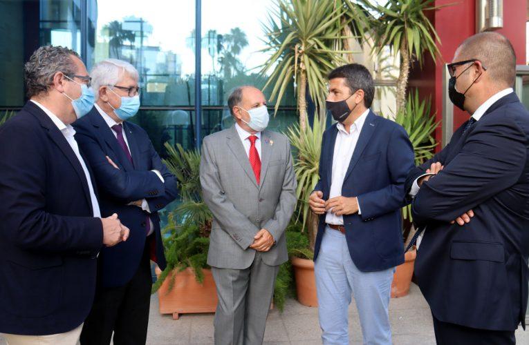 El alcalde de Benidorm destaca el compromiso social del Rotary Club durante la pandemia
