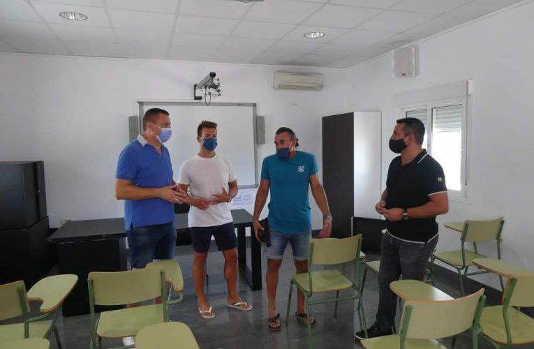 La Nucía invierte 30.000 euros en acondicionar las aulas de FP